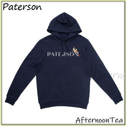 Pullovers Long Sleeves Cotton Logo Hoodies