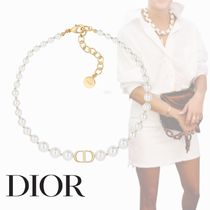 Christian Dior Costume Jewelry Chain Party Style Office Style Elegant Style