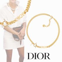 Christian Dior Costume Jewelry Casual Style Chain Party Style Office Style