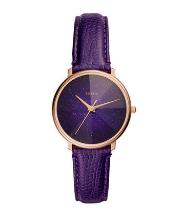 Casual Style Round Quartz Watches Stainless Elegant Style