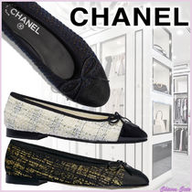 CHANEL Other Plaid Patterns Tweed Bi-color Plain Leather