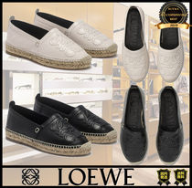 LOEWE Monogram Casual Style Unisex Street Style Plain Shoes
