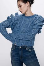 ZARA Cable Knit Medium Sweaters