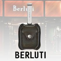 Berluti Blended Fabrics Plain Leather Watches & Jewelry