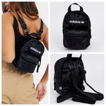adidas Casual Style Street Style Plain Shoulder Bags