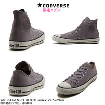 CONVERSE ALL STAR Star Unisex Suede Street Style Plain Low-Top Sneakers