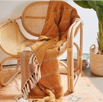 Urban Outfitters Unisex Fringes Throws
