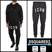 D SQUARED2 Tapered Pants Street Style Bi-color Cotton Tapered Pants