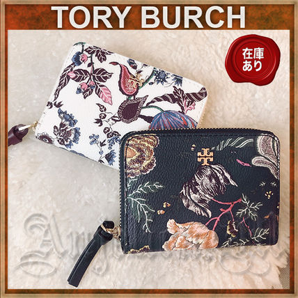 Flower Patterns PVC Clothing Coin Cases