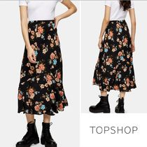 TOPSHOP Flower Patterns Casual Style Medium Party Style