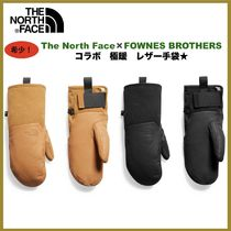 THE NORTH FACE Street Style Collaboration Plain Leather