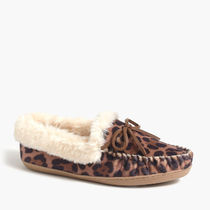 J Crew Factory Leopard Patterns Casual Style Slip-On Shoes