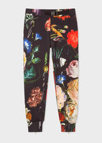 Paul Smith Tapered Pants Flower Patterns Street Style Cotton