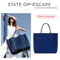 State of Escape Casual Style A4 Plain Oversized Totes