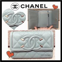 CHANEL ICON Folding Wallets