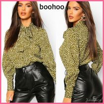 boohoo Casual Style Puffed Sleeves Long Sleeves Party Style
