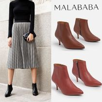 Malababa Plain Elegant Style Boots Boots