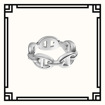 Unisex Party Style Silver Elegant Style Rings