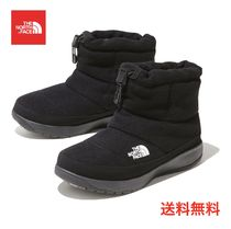 THE NORTH FACE Nuptse Rubber Sole Casual Style Suede Faux Fur Blended Fabrics