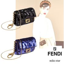 FENDI Casual Style Lambskin 2WAY Party Style Bags