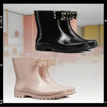 RED VALENTINO Rubber Sole Rain Boots Boots