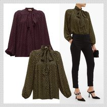 N21 numero ventuno Dots Long Sleeves Shirts & Blouses