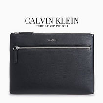 Calvin Klein Faux Fur Plain Clutches