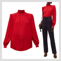 N21 numero ventuno Silk Long Sleeves Shirts & Blouses
