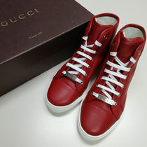 GUCCI Casual Style Plain Low-Top Sneakers
