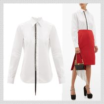 N21 numero ventuno Long Sleeves Cotton Shirts & Blouses