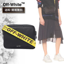Off-White Casual Style Bi-color Shoulder Bags