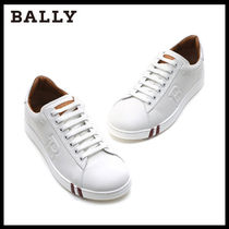 BALLY Street Style Leather Sneakers