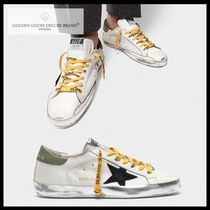 Golden Goose Street Style Leather Sneakers