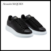 alexander mcqueen Street Style Leather Low-Top Sneakers