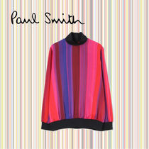 Paul Smith Stripes Casual Style Long Sleeves Medium Shirts & Blouses