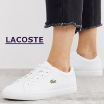 LACOSTE Lace-up Leather Low-Top Sneakers