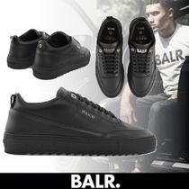 BALR Unisex Street Style Leather Sneakers