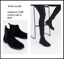 River Island Suede Plain Boots