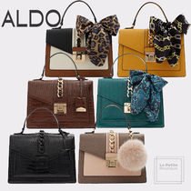ALDO Casual Style Faux Fur Blended Fabrics 2WAY Plain Party Style