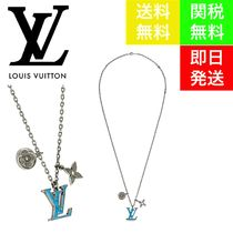 Louis Vuitton Unisex Street Style Chain Special Edition Silver