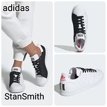 adidas STAN SMITH Unisex Street Style Leather Low-Top Sneakers