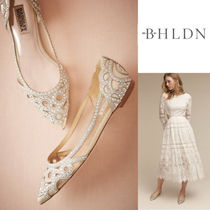 BHLDN Faux Fur Blended Fabrics Party Style Elegant Style