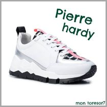 Pierre Hardy Casual Style Leather Low-Top Sneakers