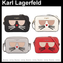 Karl Lagerfeld Casual Style Faux Fur Party Style Elegant Style