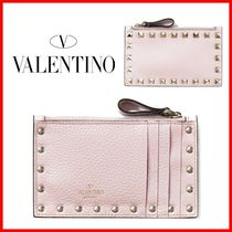 VALENTINO Studded Card Holders