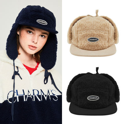 Unisex Street Style Shearling Keychains & Bag Charms