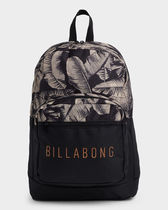 Billabong Casual Style Unisex Street Style A4 Backpacks