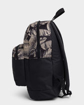 Billabong Casual Style Unisex Street Style A4 Logo Backpacks