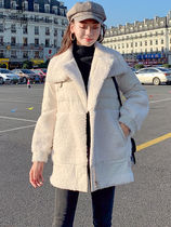 Stand Collar Coats Street Style Plain Medium Parkas