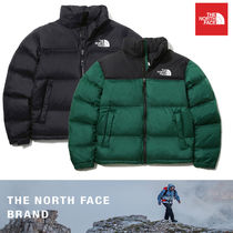 THE NORTH FACE Nuptse Short Unisex Down Jackets